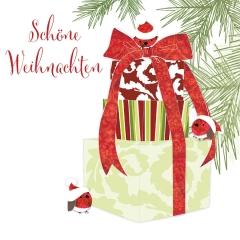Weihnachtskarte Geschenk