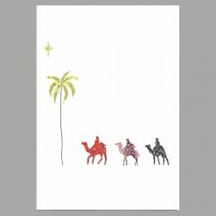 Weihnachtskarte Drei Könige