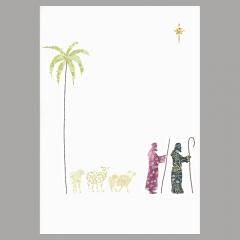 Weihnachtskarte Hirten