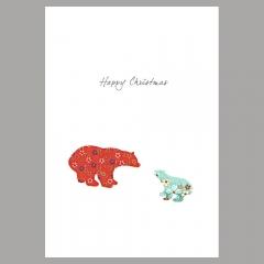 Weihnachtskarte Icebear