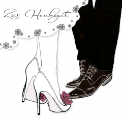 Hochzeitskarte Der Tanz
