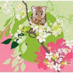 Doppelkarte Hamster