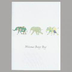 Glückwunschkarte Elephant Boy
