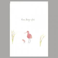 Glückwunschkarte Avocet Girl