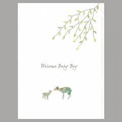 Glückwunschkarte Deer Boy