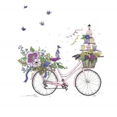 Doppelkarte Fahrrad